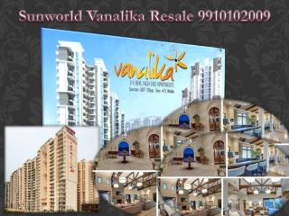 Ready to move projects sunworld vanalika resale in noida