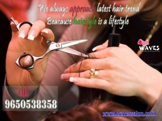 Confused about latest hair trend?what suit to your hair & what it is not,visit waves hair salon call 9650538358 for appo
