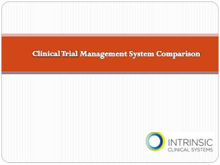 Clinical Trial Management System Comparison