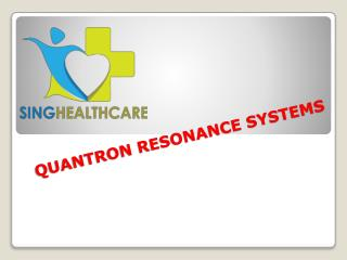 Quantron Resonance Systems | Soqibed Hot House