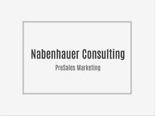 Nabenhauer Consulting