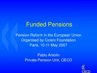 Funded Pensions