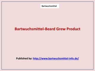 Bartwuchsmittel-Beard Grew Product