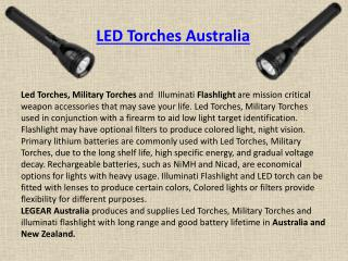 Led Torches Australia