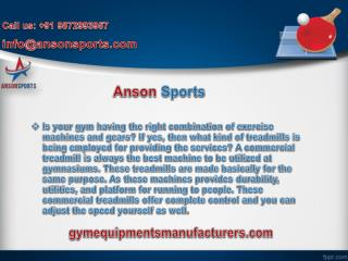 Top-notch Dumbbells Manufacturer in India