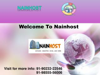 Get Domain Names & Web Hosting | Nainhost