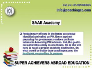 Coachingca.com- Best SSC Coaching in Gurgaon