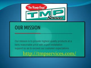 Information About TMP Services