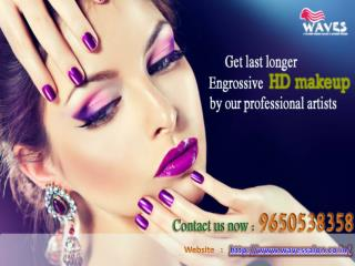 Irritated by pristine makeup ?Bring yourself to our luxiorious hd makeup studio noida to avail our valuable services Cal