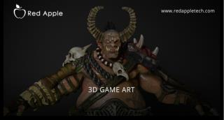 Red Apple Technologies 3D game design and art Portfolio