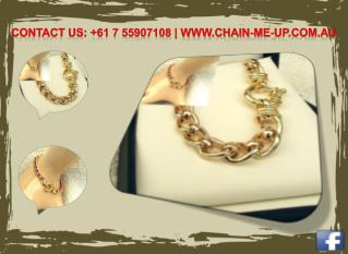 Gold Bracelets - Chain Me Up