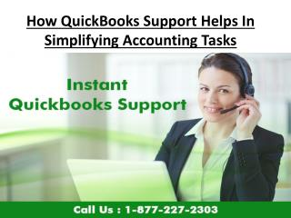 How QuickBooks Support Helps In Simplifying Accounting Tasks