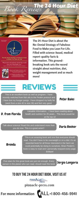 Review on Brian Peskin's Book: The 24 Hour Diet