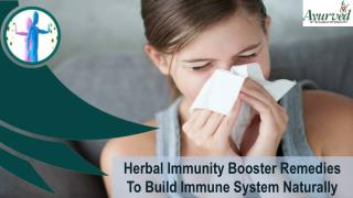 Herbal Immunity Booster Remedies To Build Immune System Naturally