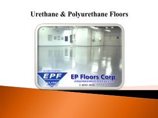 Urethane & Polyurethane Floors