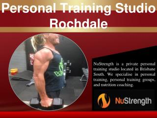 Personal Training Studio Rochdale