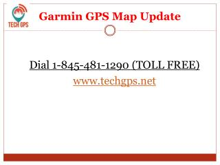Tomtom Map Update & Garmin Map Update Services