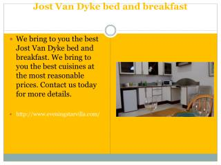 Jost Van Dyke B&B