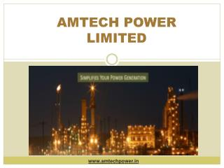 Amtech Power Limited - Renowned Leader of Power Generation Control System