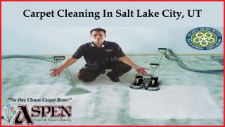 Carpet Cleaning In Salt Lake City, UT