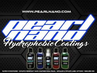 Non-Solvent Ceramic Auto Body Coating in the world - Pearl Nano