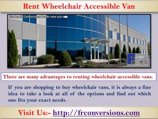 Power wheelchair ramps for vans - Visit us frconversions com