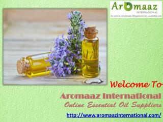 Get Pure Floral Absolute Oil @ www.aromaazinternational.com