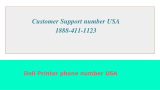 Dell printer helpline number USA  1-844-331-5444