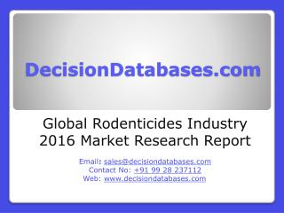 Rodenticides Market Analysis 2016 Development Trends