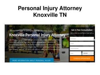 Personal Injury Attorney Knoxville TN