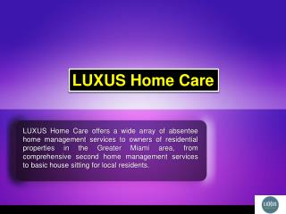 Home Watch Service Miami