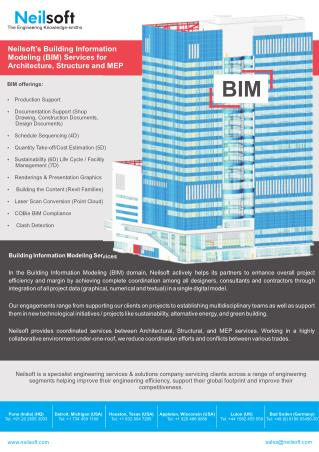 BIM for Architecture, Structure & MEP