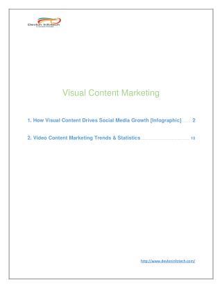 Visual Content Marketing | Social Media Marketing