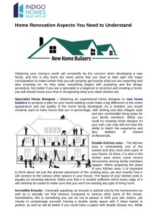 Find the new home builders for new construction