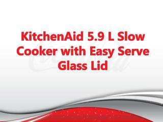 KitchenAid 5.9 L Slow Cooker