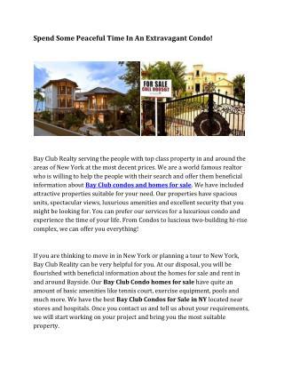 Bay Club Century Real Estates NY