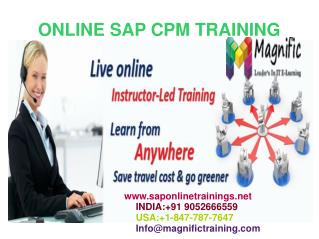 Sap CPM Online Training in Malaysia
