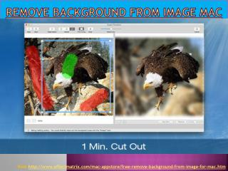 Remove Background from Image Mac - Effect Matrix