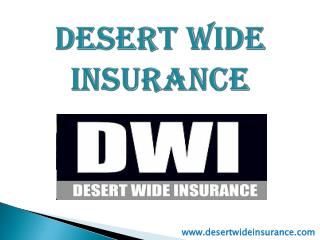 Arizona Car Insurance - Desert Wide Insurance