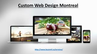 Custom Web Design Montreal