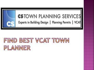 Find Melbourne town planner