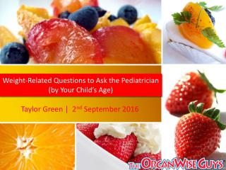 Weight-Related Questions to Ask the Pediatrician (by Your Child's Age)