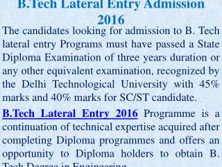 B.Tech Direct Admission in Kolkata