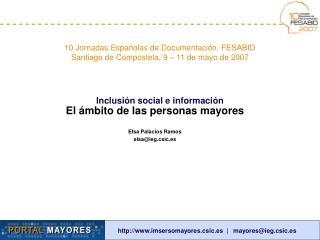 Inclusi n social e informaci n