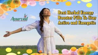 Best Herbal Energy Booster Pills To Stay Active and Energetic