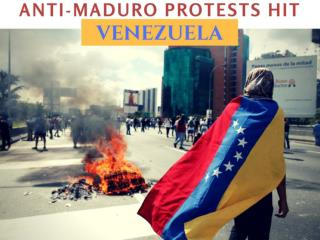 Anti-Maduro protests hit Venezuela