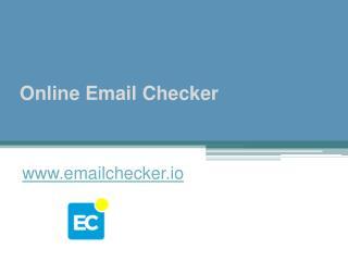 Online Email Checker - www.emailchecker.io