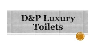 Luxury toilet hire