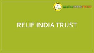 relif india trust organization