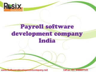 Payroll software development company India